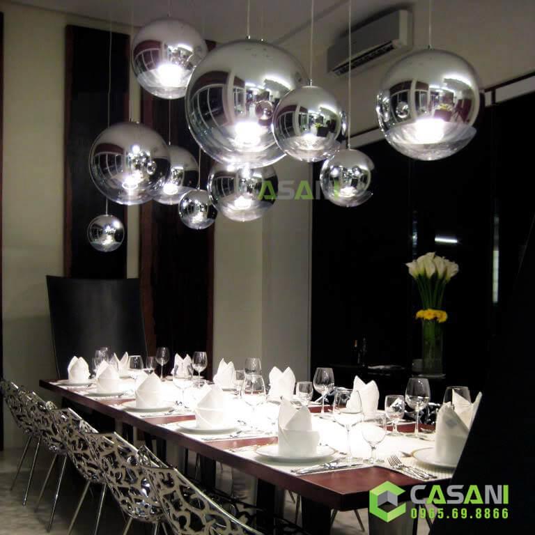 đèn trang trí bàn ăn