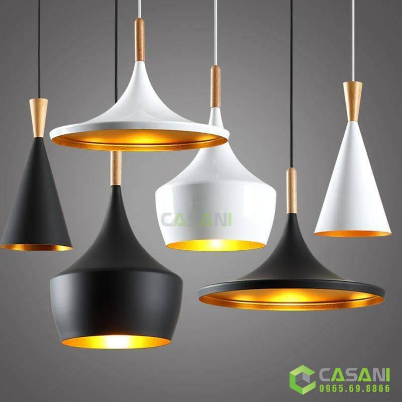 Đèn thả trang trí A B C đui gỗ CTH-8326