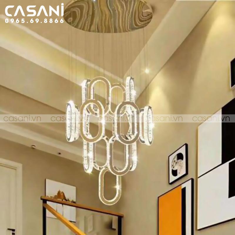 Bí kíp chọn lựa và lắp đặt đèn thông tầng cho khách sạn, nhà hàng