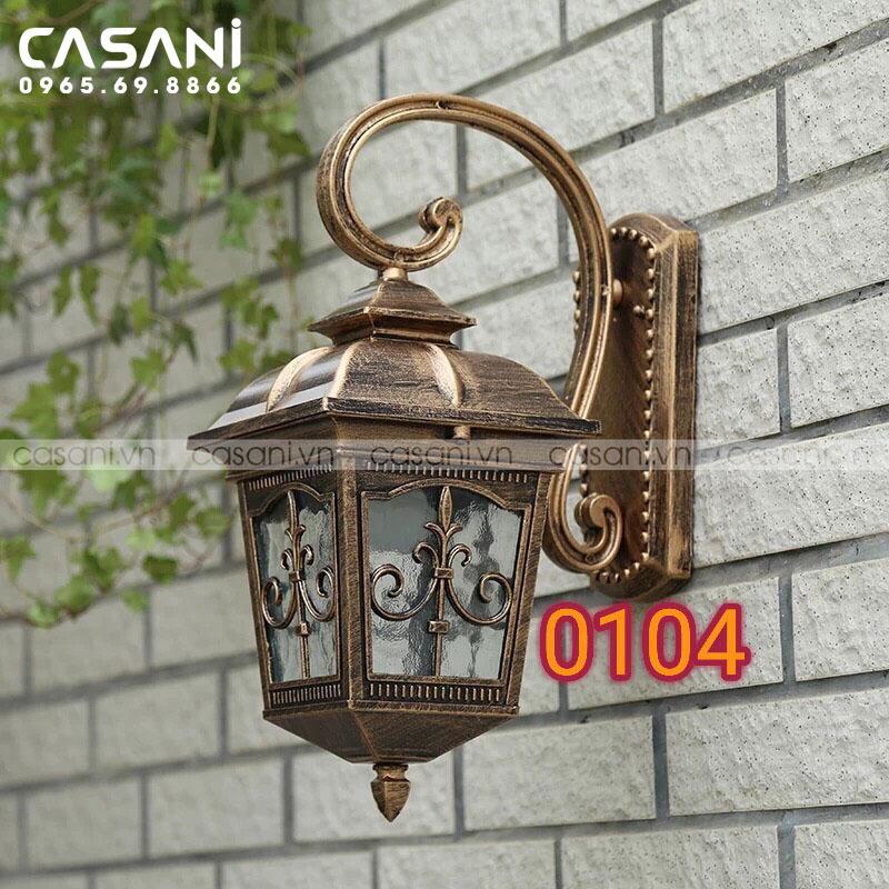 Bí quyết chọn lựa đèn tường hàng rào ngoại thất rẻ đẹp