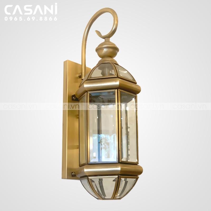Những ưu điểm nổi bật của đèn tường đồng kính