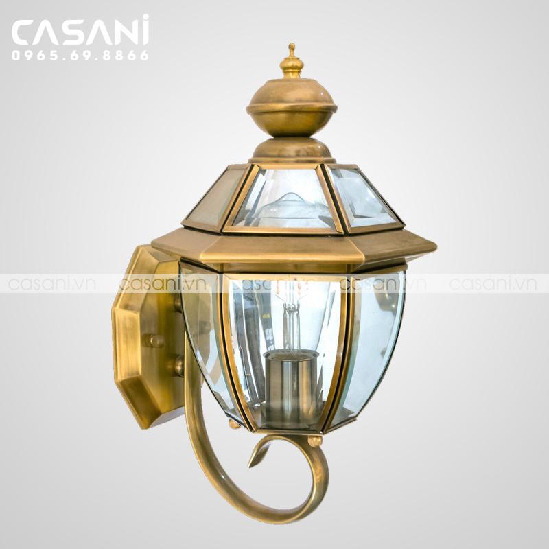 Chọn đèn đồng treo tường như thế nào phù hợp?