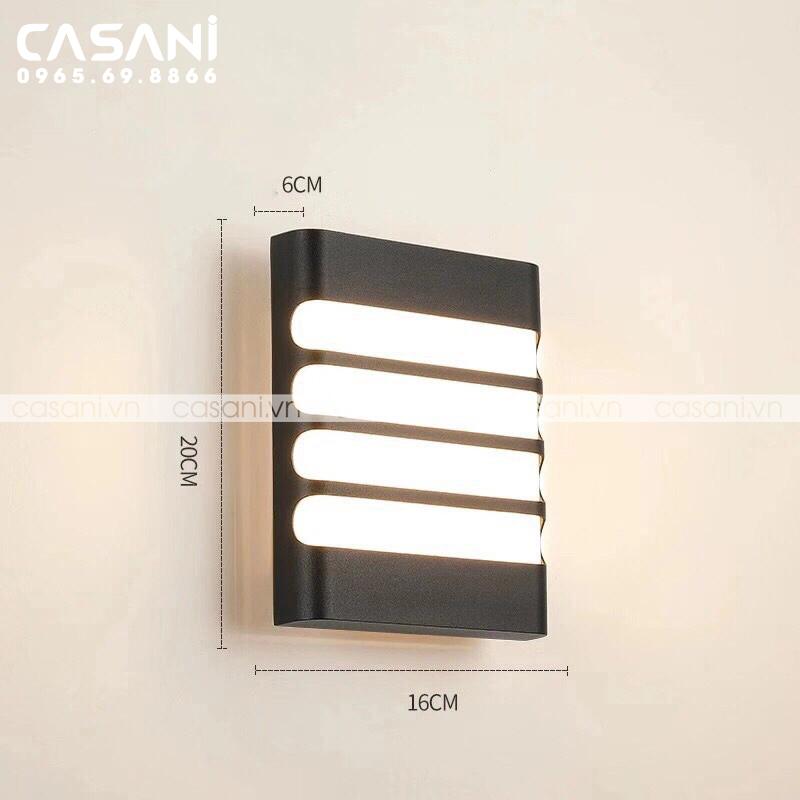 Những mẫu đèn led treo tường hiện đại đẹp nhất