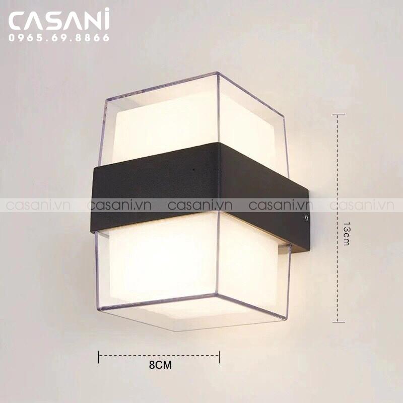 Cách chọn đèn tường ngoài trời phù hợp với không gian gia đình