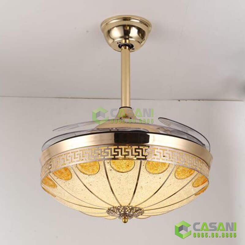 quạt trần đèn cho phòng khách